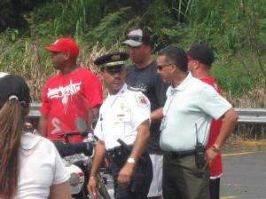 El Sr. Freddy Márquez Vergara Comisionado de la Policía Municipal de Carolina
