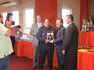 El José Rivera Domínguez recibe su galardón